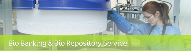 off-site storage, Bio banking, veterinary, Human tissue, Research